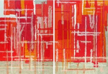Grafitti (133 x 91 cm - 2 pcs)